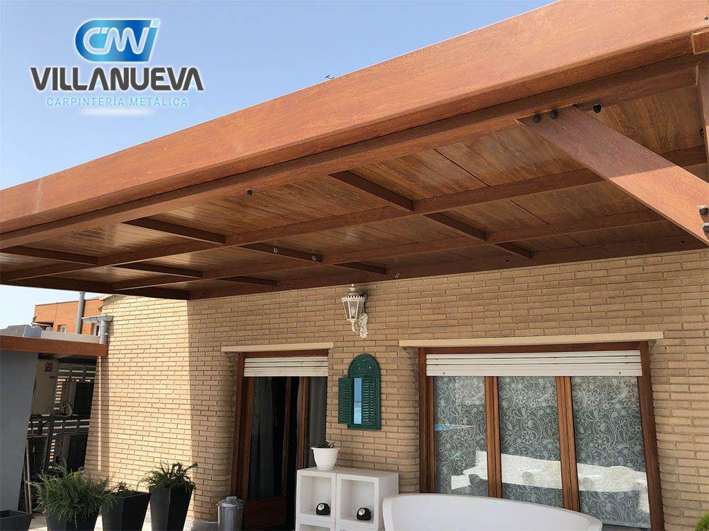 Foto de Pérgolas de aluminio Carpintería Metálica Villanueva
